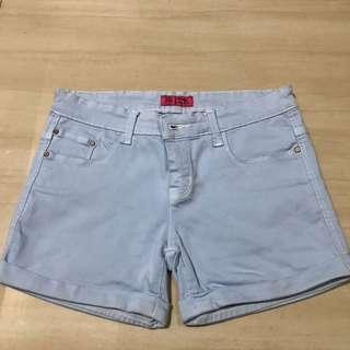 Tory Burch hot pants blue