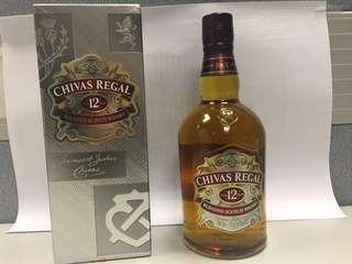 芝華士12年威士忌(750毫升裝)