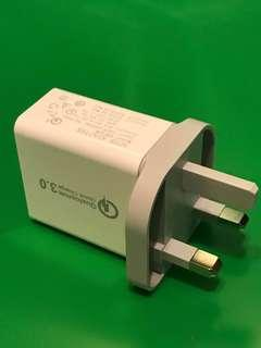 Brand New Adaptor for QC and 2.4A 快速充電器