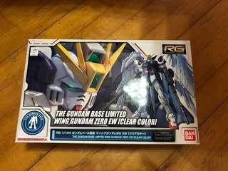 The Gundam Base Limited Wing Gundam Zero Ew