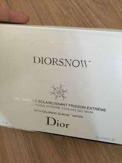Dior Cooling Gel Mask