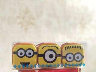 Despicable Me Minions Pouches with Candies (Christmas Present Idea)