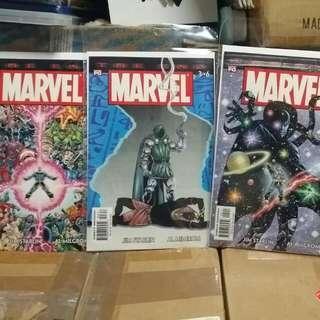 Marvel Comics 6 Issue Mini Series