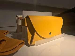 COS Waist Bag yellow mustard