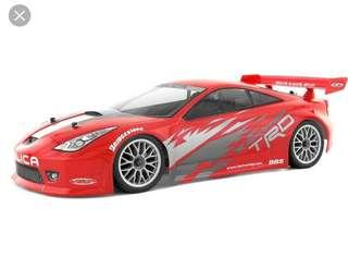 (NOW AVAILABLE) HPI RACING TOYOTA CELICA 200MM RC BODY SHELL