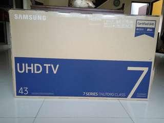 Smart TV 43inch UHD 4K - Samsung UA43NU7090