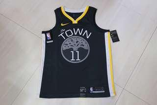🏀現貨一件🏀NBA Nike GS Warriors Klay Thompson Statement Swingman Jersey 勇士K湯臣球衣