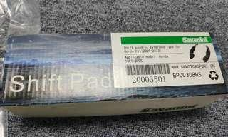 Savanini Aluminium Paddle Shifter Extension Honda Jazz Civic CRV (Black Colour)