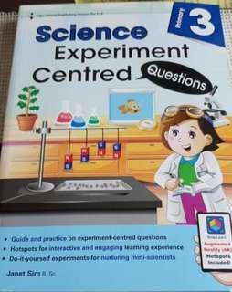 P3 Science Assssment Book