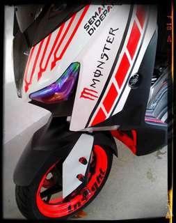 Yamaha Xmax 300. Full Body Wrap.