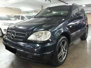 2000 Mercedes-Benz ML320 Automatic.Elektrik SEAT.Unit Kondisi PRIMA