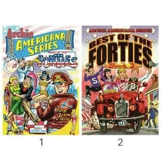 Archie Americana: Best of the Forties Book 1 and 2 (ebook)