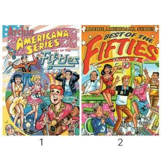 Archie Americana: Best of the Fifties Book 1 and 2 (ebook)
