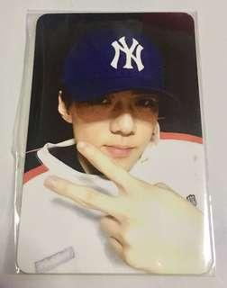 EXO SEHUN LMR OFFICIAL PHOTOCARD