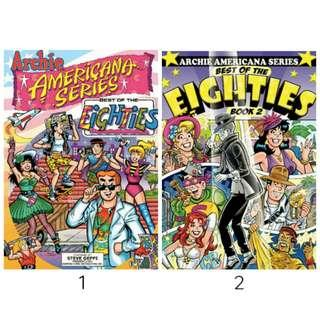 Archie Americana: Best of the Eighties Book 1 and 2 (ebook)