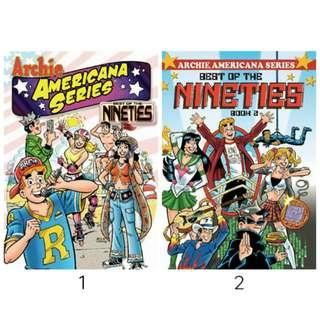 Archie Americana: Best of the Nineties Book 1 and 2 (ebook)