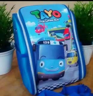 Tas bekal anak 2 in 1 Tayo