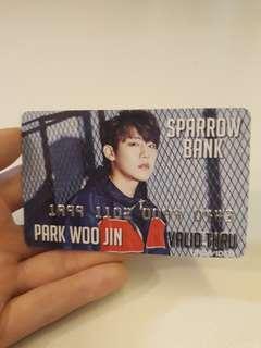 🚚 (INSTOCK) WOOJIN PVC CARD