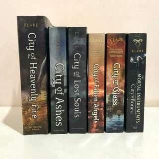 Mortal Instruments (6 books)