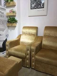梳化椅(可平瞓,三件套)