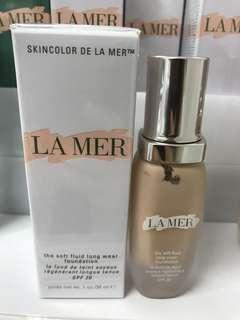 La Mer the soft fluid long wear foundation #02 ivory