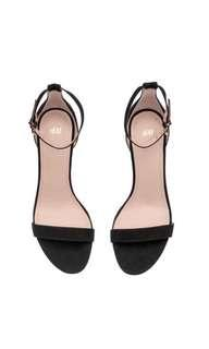 H&M Black heels shoes