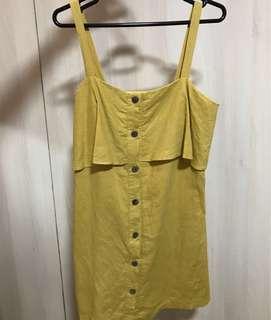 TEM mustard dress