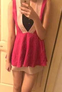 🚚 正韓 甜美性感小洋裝