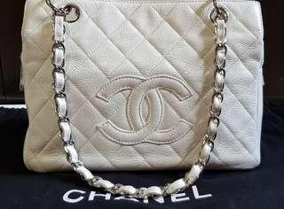 Authentic Chanel PTT tote