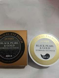 [Petitfee] Black Pearl and Gold Hydrogel Eye Patch