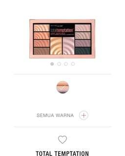 Maybelline Total Temptation Eyeshadow & Higlight Palette