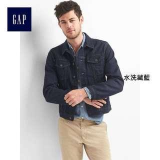 🚚 GAP牛仔外套 size:M
