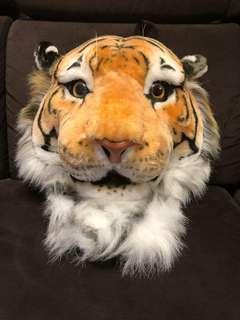 可愛真實老虎🐯頭背囊
