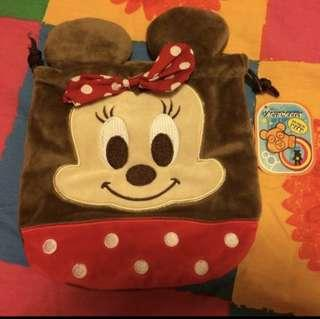 minnie mouse drawstring pouch