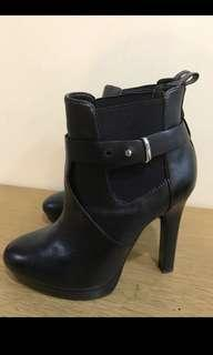 Real leather zara boots