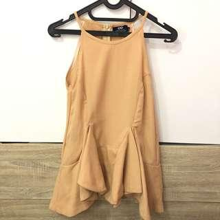 Label 8 Store Top in Brown