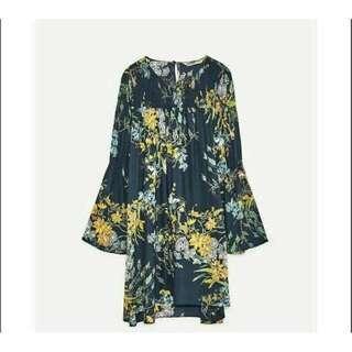 ZARA Inspired Bell Sleeves Dress