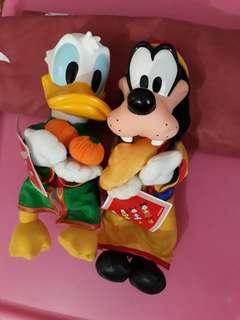 Donald Ducks set of 2 for $15.