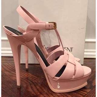 Saint Laurent tribute pink heels