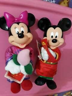 Minnie & Mickey mouse from Mc Donald