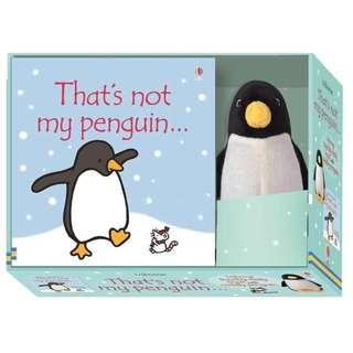 🚚 [BN] Usborne: That's not my penguin... book and toy