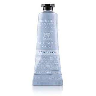 BN Crabtree and Evelyn goat milk and oat hand therapy