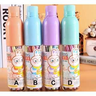 ( XMAS SALES ) Kids Rabbit Water Colour Markers