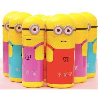 ( XMAS SALES ) Minion Water colour markers