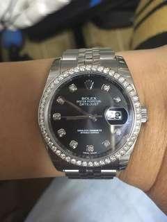Rolex Datejust 116244 Diamond watch
