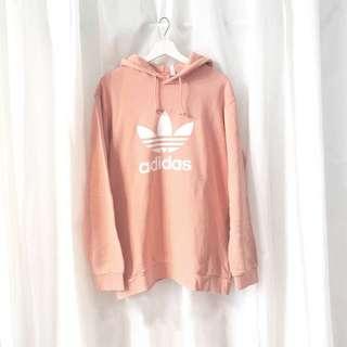 Adidas Trefoil Hoodie Dusty pink