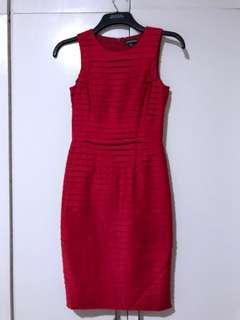 Warehouse Tiered Pencil Dress