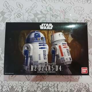 Star wars R2-D2 & R5-D4 set