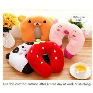 🚚 Cute Characters Neck Comfort Cushion