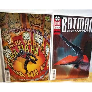 Batman Beyond #25 Main Foil Cover A + Variant NM